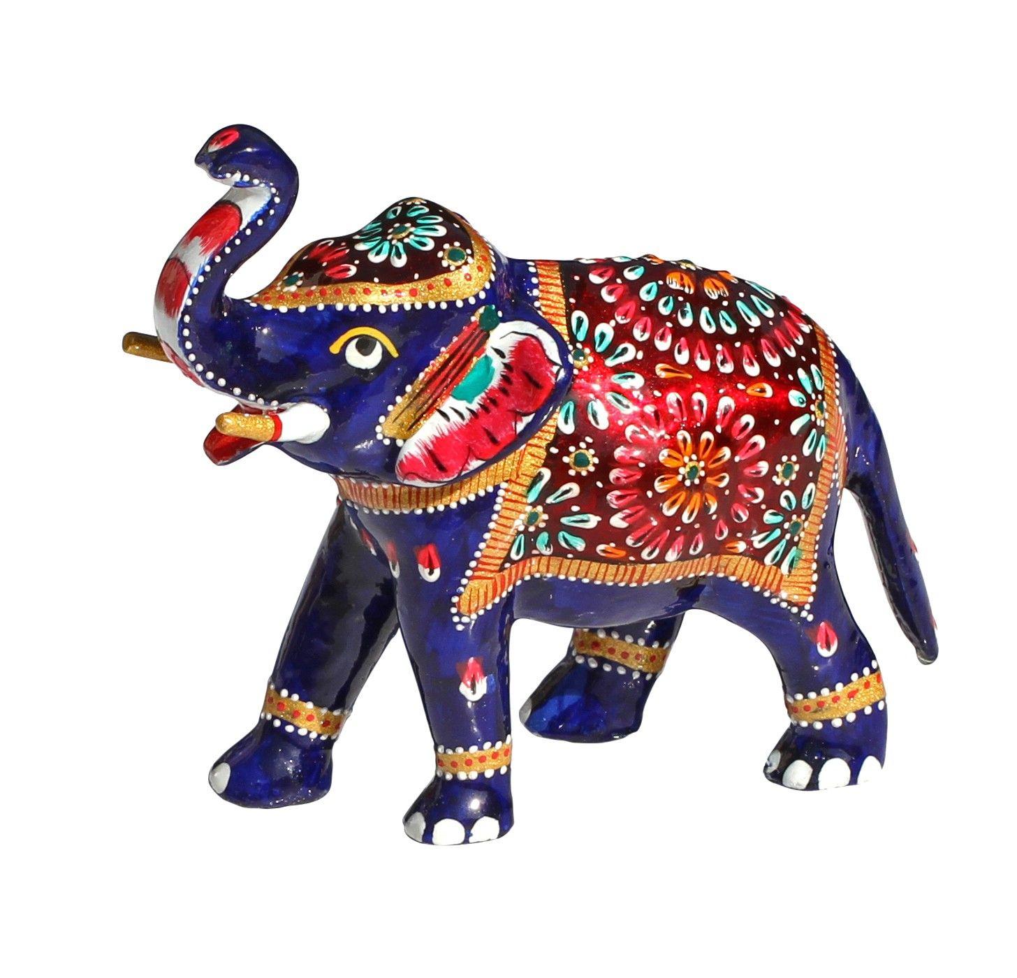 Bejeweled Elephant Elephants Decor