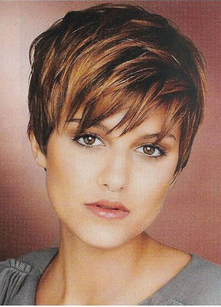 25 Stylish Short Hairstyles with Bangs for 2019 #curlshorthair