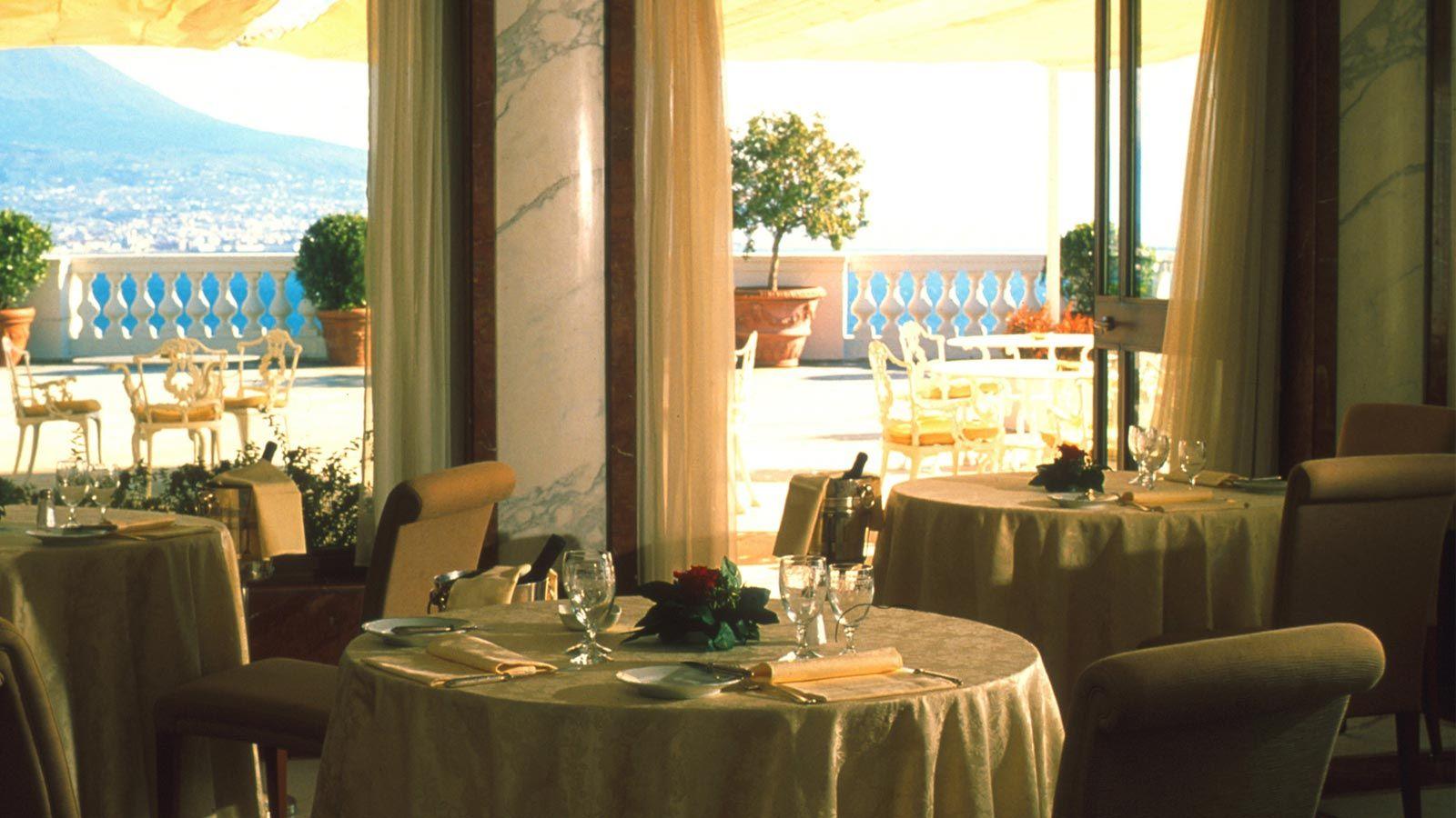 La Terrazza Restaurant Breathtaking Views Of Naples