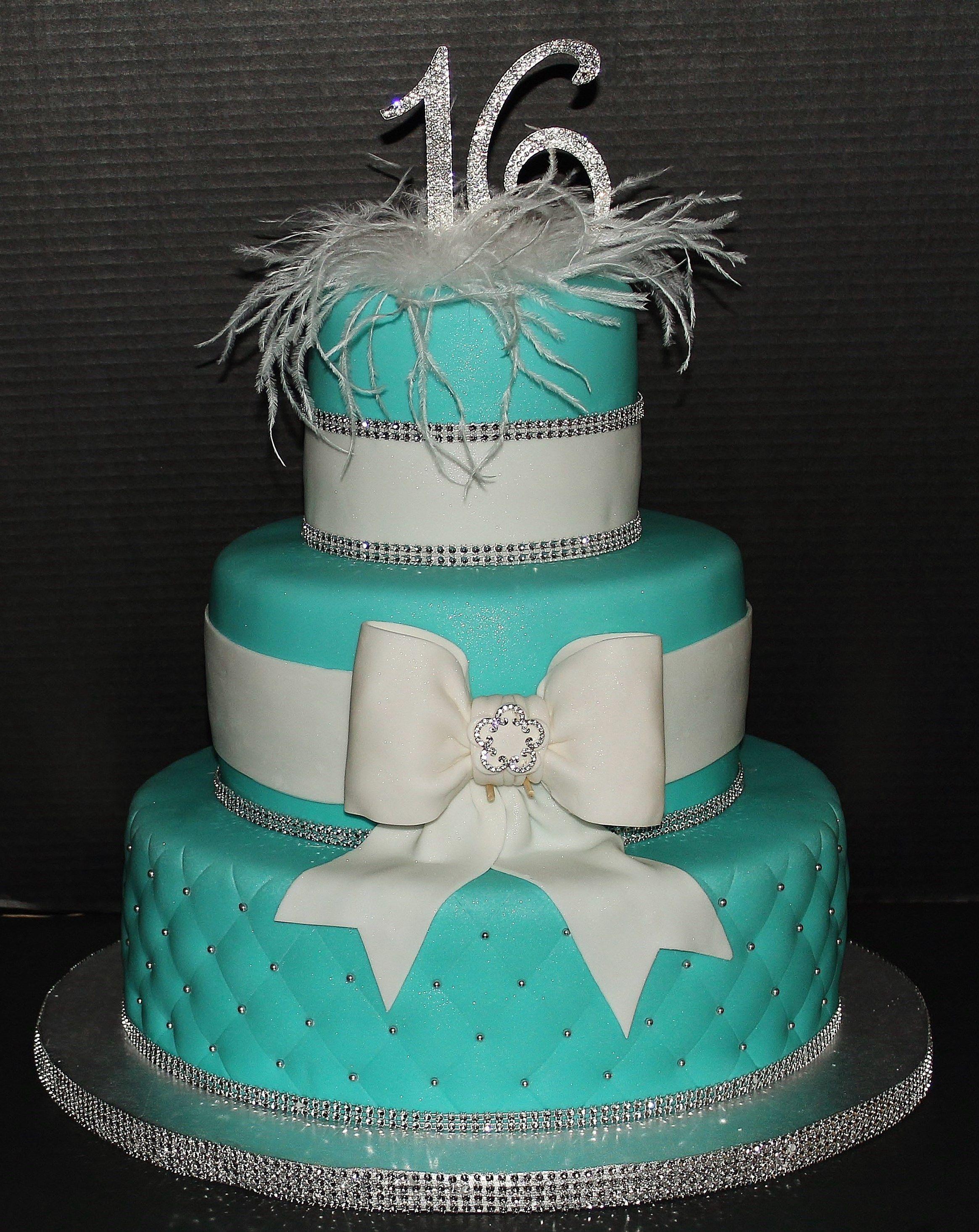 Sweet Sixteen Cake By Cecy Huezo