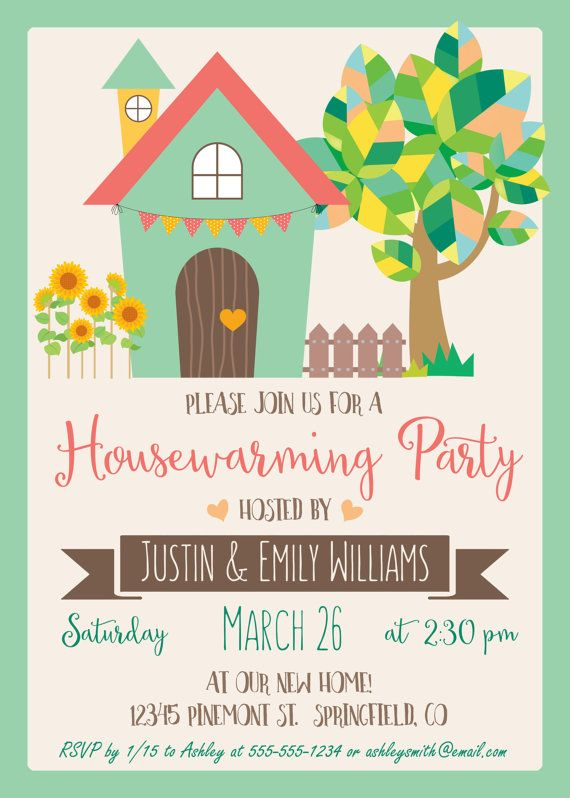 26 housewarming invitation wording examples housewarming party spring housewarming invitation personalized by yourseasons stopboris Choice Image