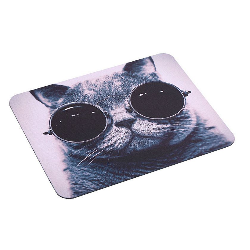 2016 HOT Selling Cat Picture Anti-Slip Laptop PC Mice Pad Mat Mousepad For Optical Laser Mouse Promotion!
