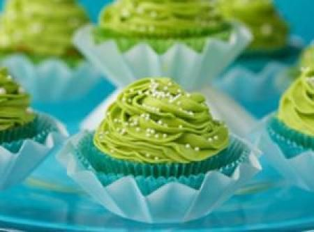 CALIFORNIA AVOCADO CUPCAKES WITH KEY LIME BUTTERCREAM FROSTING Recipe