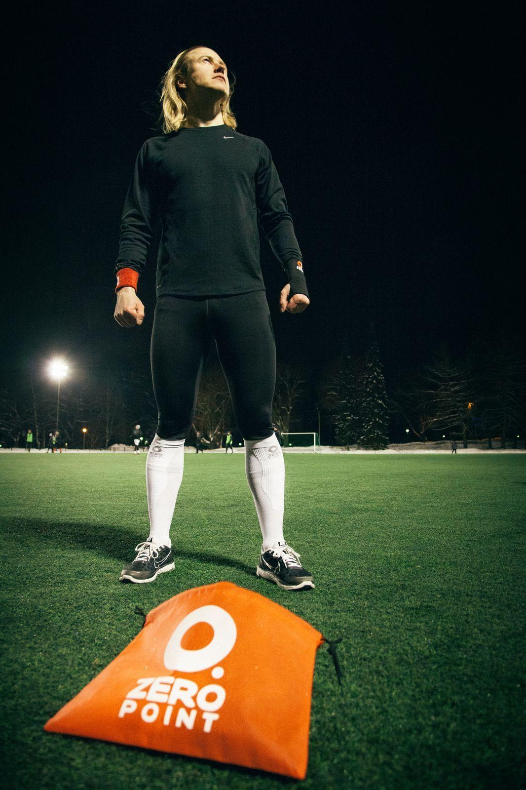 Outdoor Zeropoint Winter Finland Men Sport Sports Compression Socks Tops