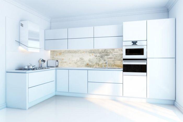 Design Behang Keuken : Keuken achterwand behang betonlook kitchen walls industrieel