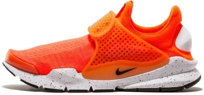 d96194b486b2 Nike Men s Sock Dart SE Total Crimson Black White Running Shoe 9 Men ...