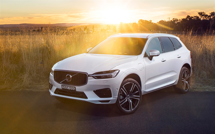 Wallpapers Volvo Xc60 4k 2018 Cars T8 Sunset Plug In Hybrid Suvs New