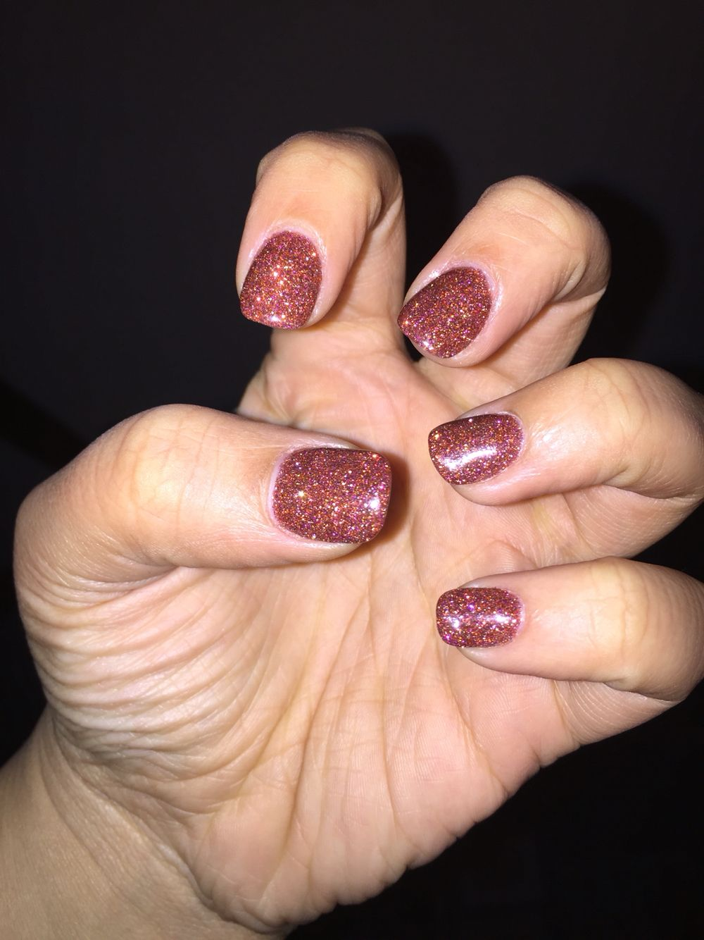 Anc Gel Nails Amazing Colors And Glitter