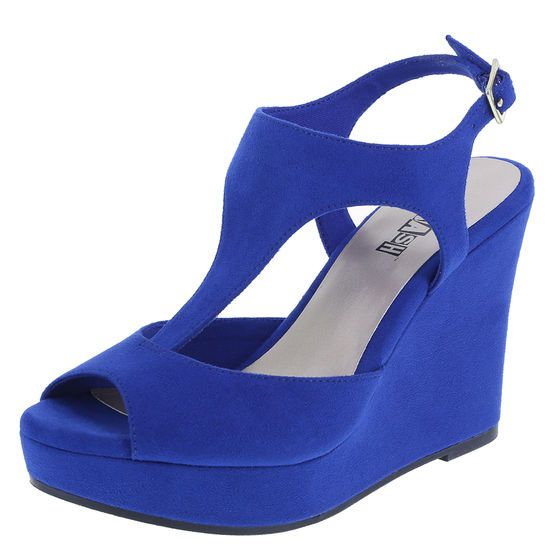 a65d3764c06 Pump Shoes. Wedges. Get high style with the Sadee from Brash! It features a faux  suede upper