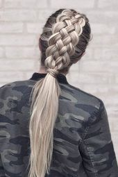 The best trick to make your braid more beautiful instantly The best trick to make your braid more beautiful instantly