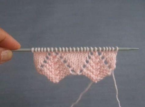 Modèles de tricot ajourés racontés – Mimuu.com   – örgü