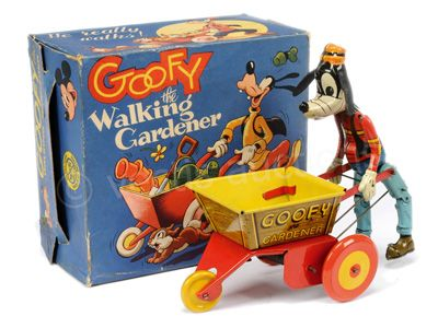 Marx (UK) Goofy The Walking Gardener, 1950'S