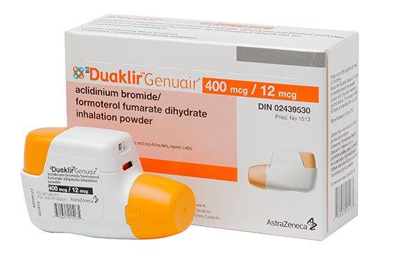 Duaklir Genuair New Combination Inhaler For Copd Maintenance