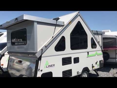 New 2018 Expedition By Aliner W Paul The Air Force Guy Youtube Air Force Rv Trailers Folding Campers