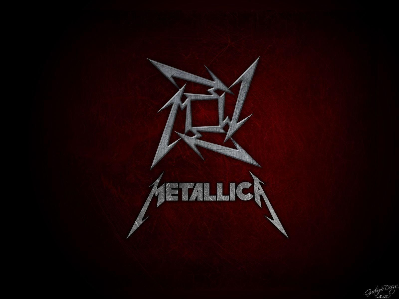 metallica logo wallpapers wallpaper cave Band wallpapers