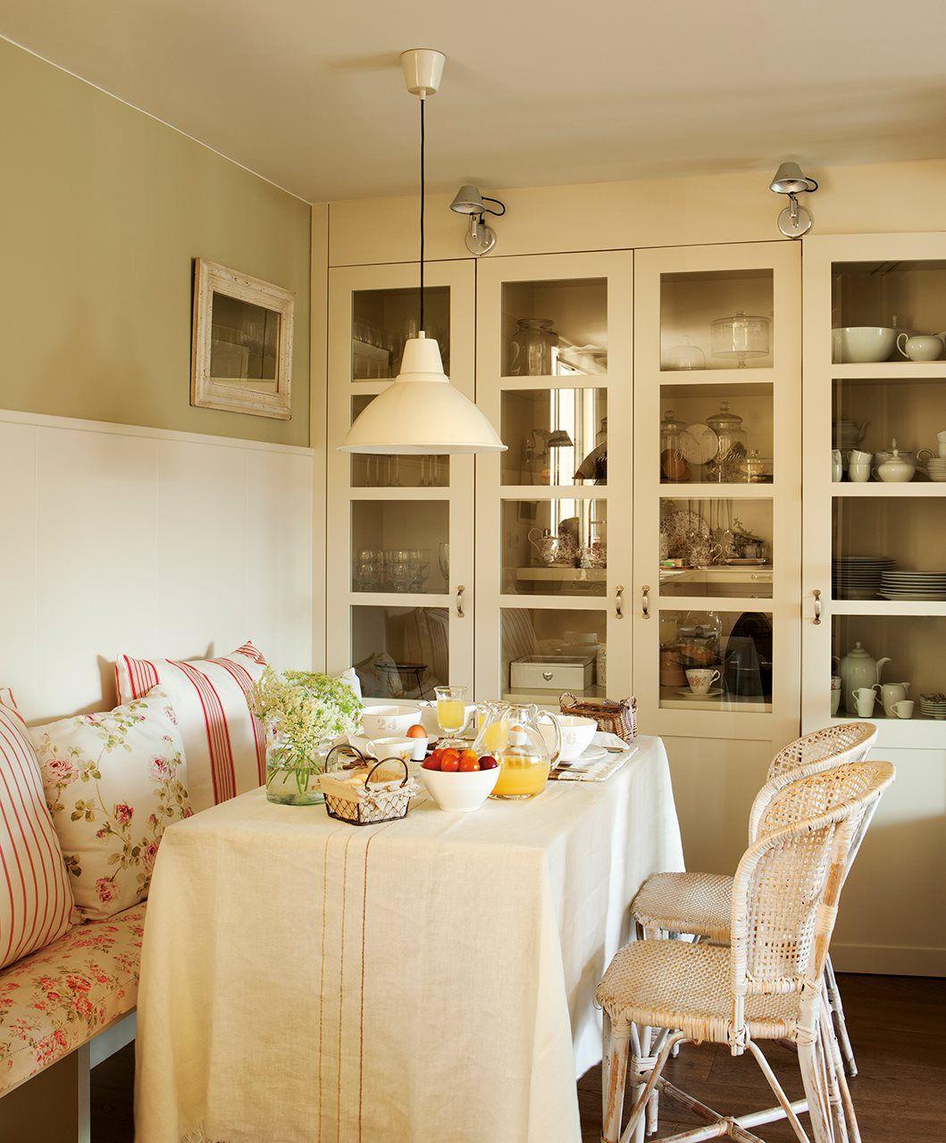 Cómo crear un office en solo 3 m2 | El mueble | Cocinas rústicas ...