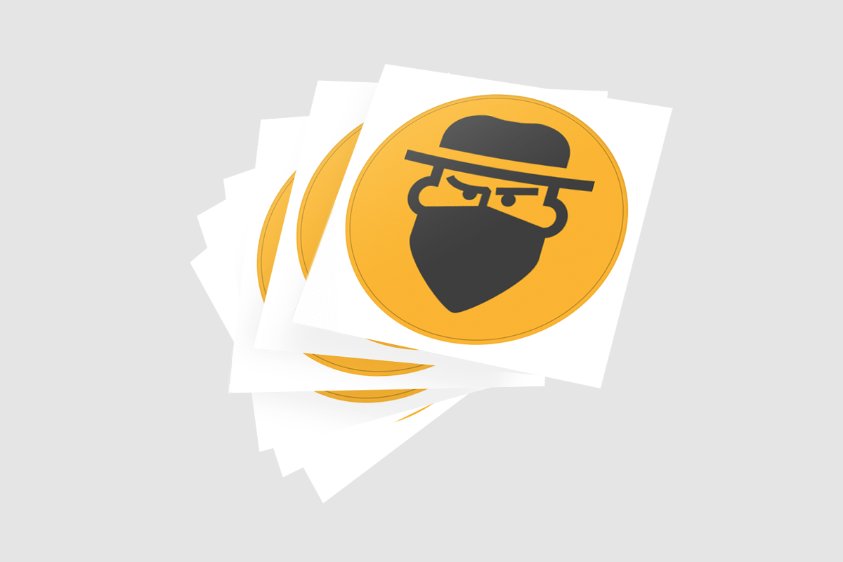 Every startup needs promo stickers. Our round stickers are a great way to promote your biz.