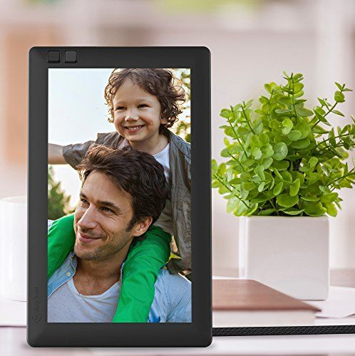 Use This Nixplay Seed 7 Inch Wifi Digital Photo Frame Digital