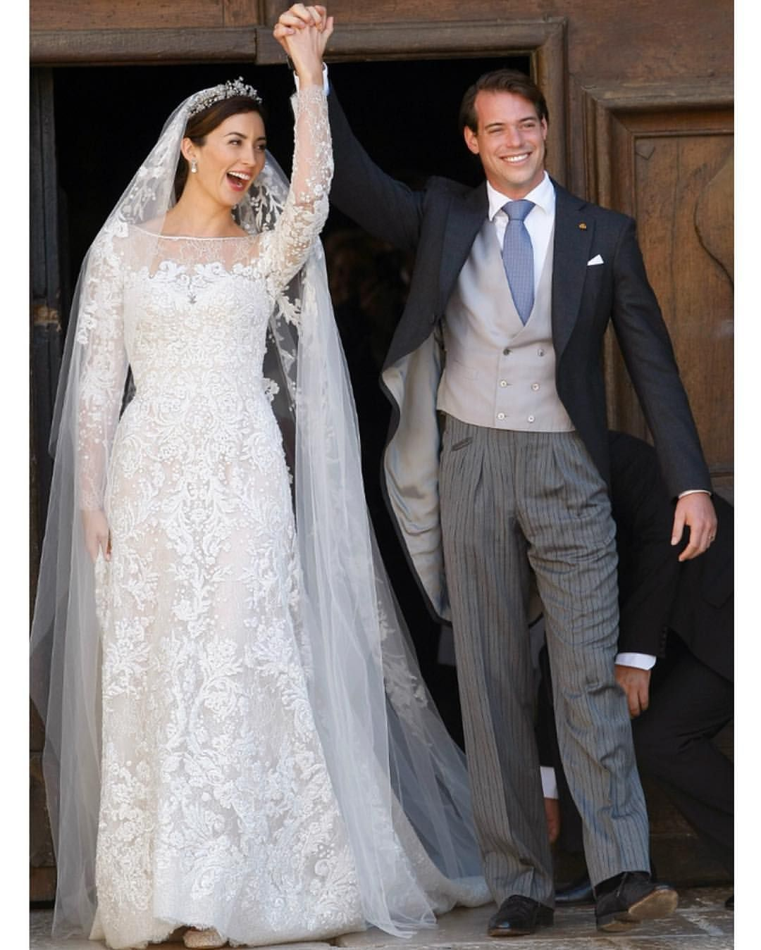 Onthisday 21st September 2013 Prince Felix Of Luxembourg Married Claire Lademacher In The Ba Royal Wedding Dress Gorgeous Wedding Dress Dream Wedding Dresses [ jpg ]