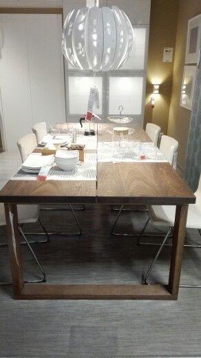 MÖRBYLÅNGA table IKEA   Ikea dining, Dining room shelves
