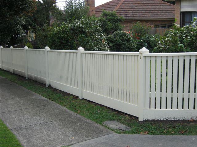 picket fencing taylor fencing melbourne new house. Black Bedroom Furniture Sets. Home Design Ideas