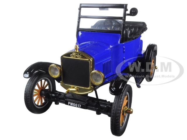 Buy Cheap 1925 Ford Model T Runabout Blue 1 24 Diecast Model Car
