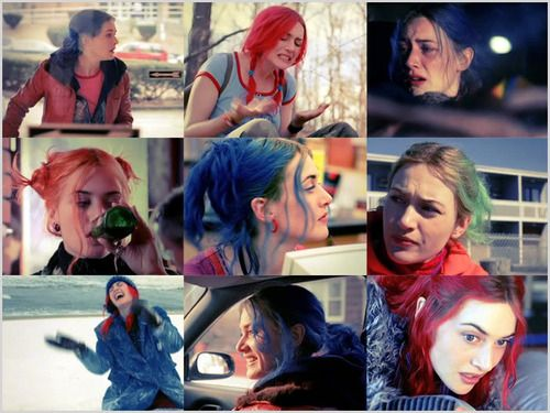 I wish I was more adventurous with hair colour like Clementine. I've never died my hair.