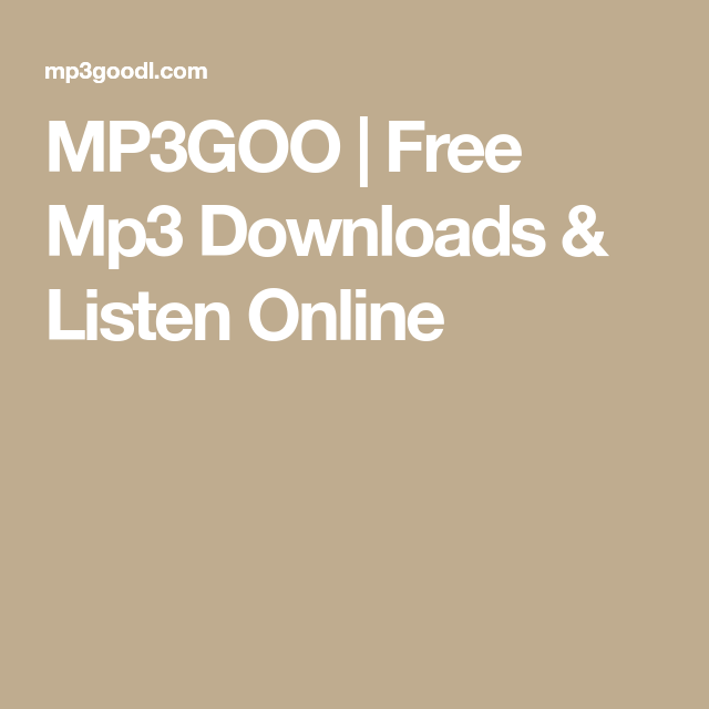 mp3goo music search