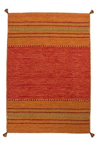 Teppich Wohnzimmer Orient Carpet klassisches Design RUG Alhambra 335 - wohnzimmer rot orange