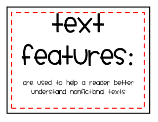 Students need to use text features to locate information