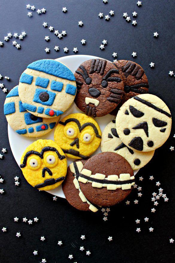 Star Wars Sugar Cookies Recipe Sugar cookies Sugaring and Star