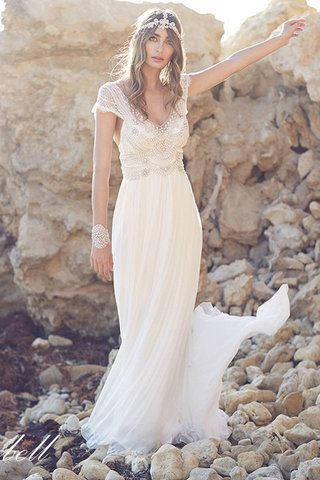 Find The Perfect Laid Back Wedding Dress To Wear Your Beach Http