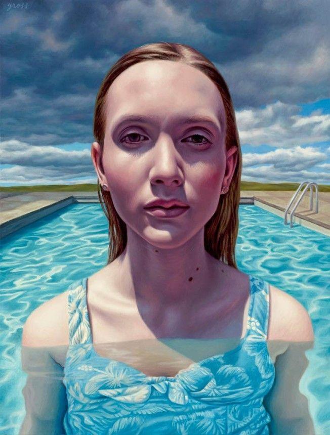As pinturas de Alex Gross
