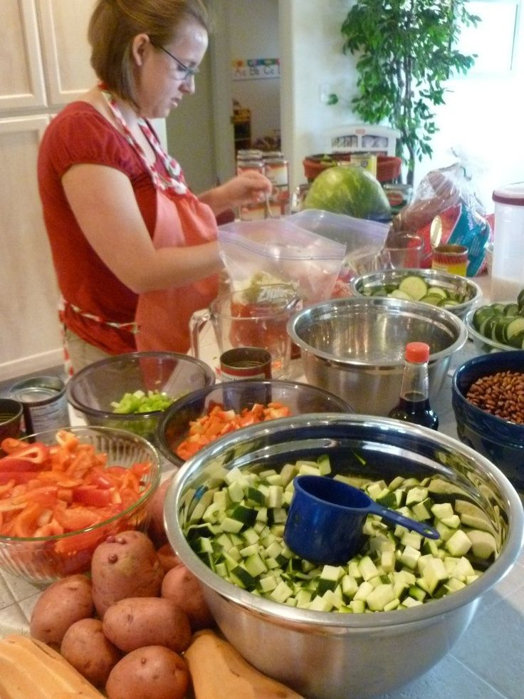Healthy Freezer Crockpot Meals:  34 healthy meals prepped in one day! Followed through to the external site and has some other great book options too...