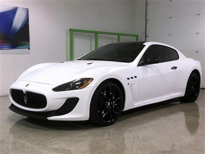 Car   2012 Maserati GranTurismo MC Stradale *Matte White Wrap* In  Mississauga, ON