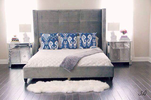 Nina Bed From Z Gallerie Home Bedroom Home Bedroom