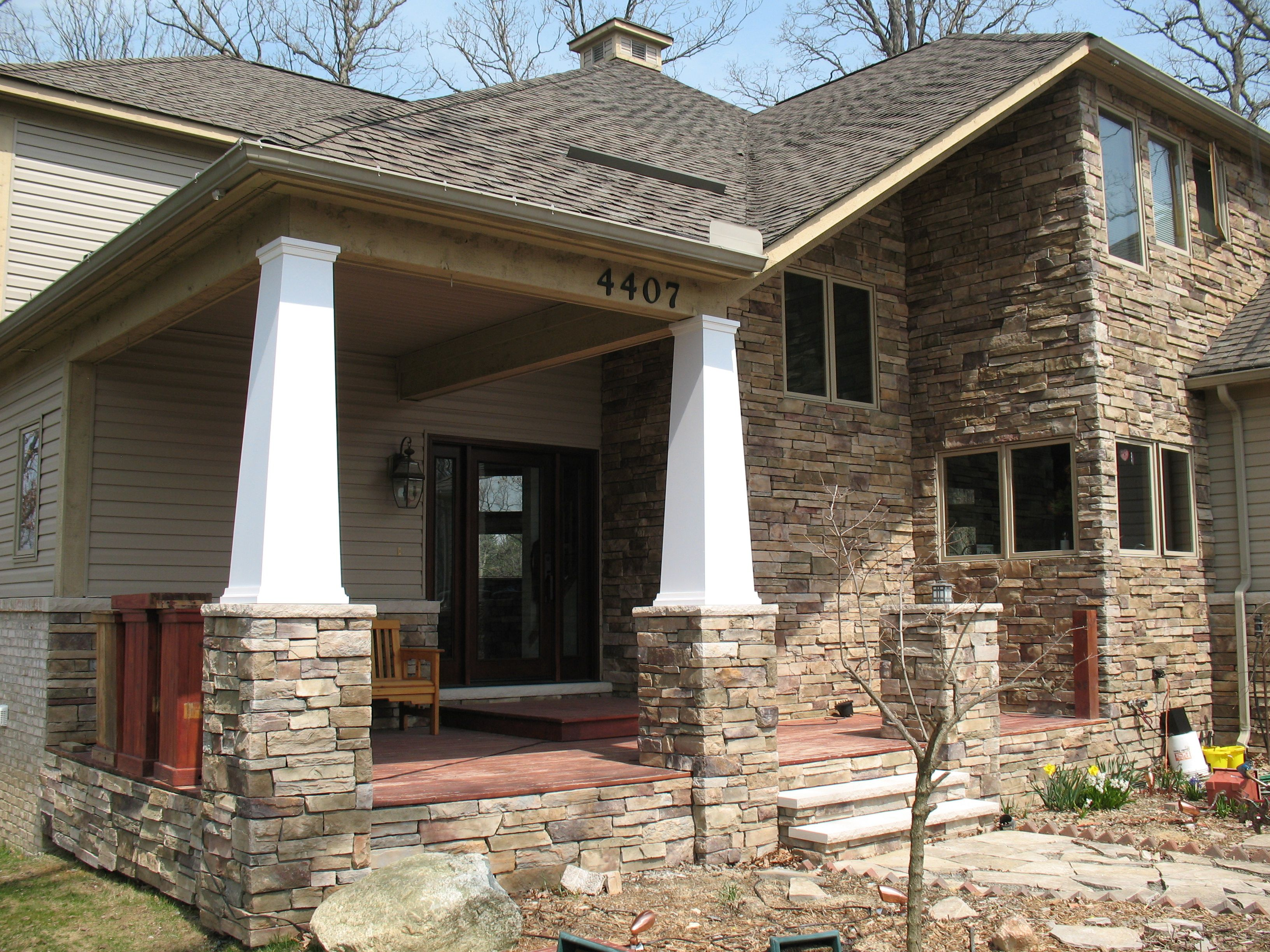 Bucks county country ledgestone by boral cultured stone for Exterior ledgestone