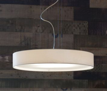lucente lighting. General Lighting-Pendant Lights In Textiles-Suspended Lights-Mirya Pendant Light-LUCENTE Lucente Lighting T