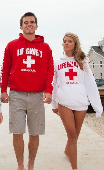 6f1709948f9 Lifeguard Pullover Hoodie Sweatshirt Unisex