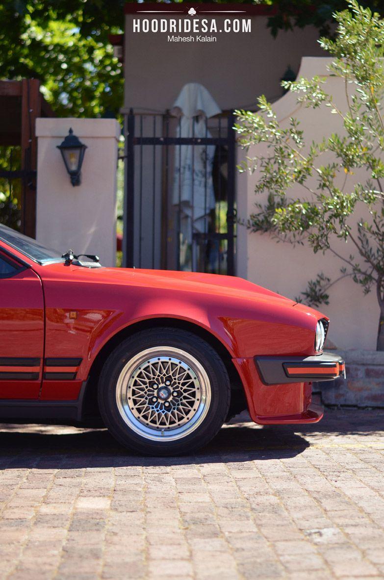 HoodRideSA. United We Roll: Alfa Romeo GTV6 3.0. If only it was the 1980's...