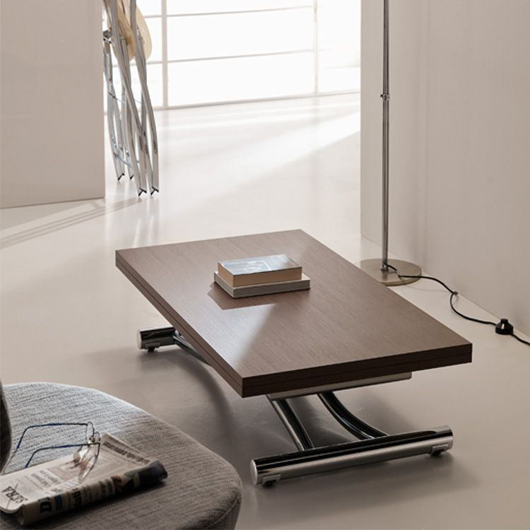 the mondial is a transforming coffee table that lifts and extends rh pinterest com