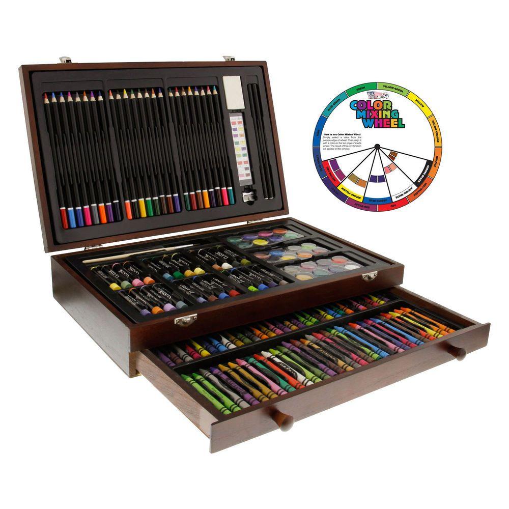 Details about 143piece art drawing set artist sketch kit
