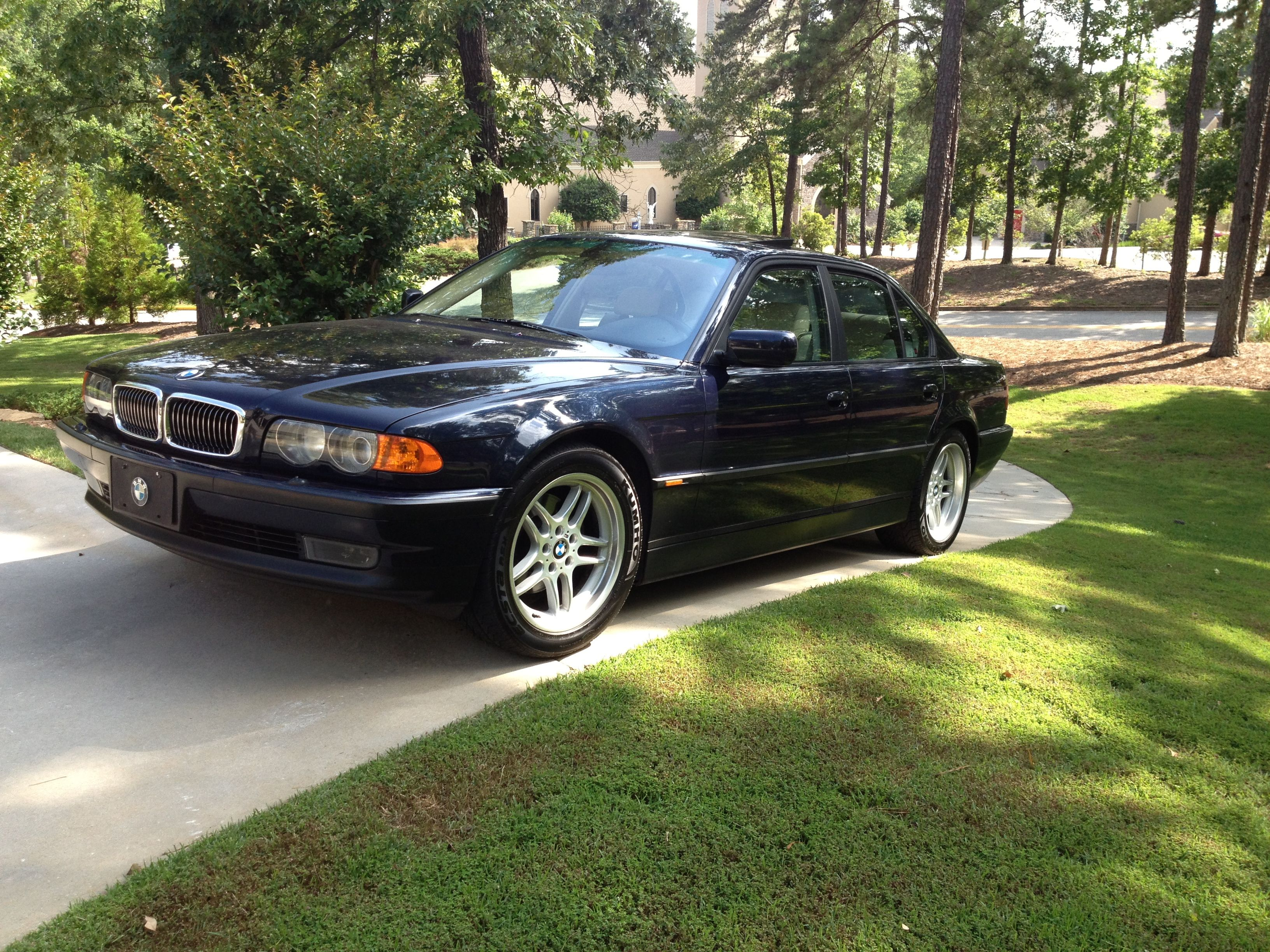 hight resolution of 2000 bmw 740i sport highline in orient blue