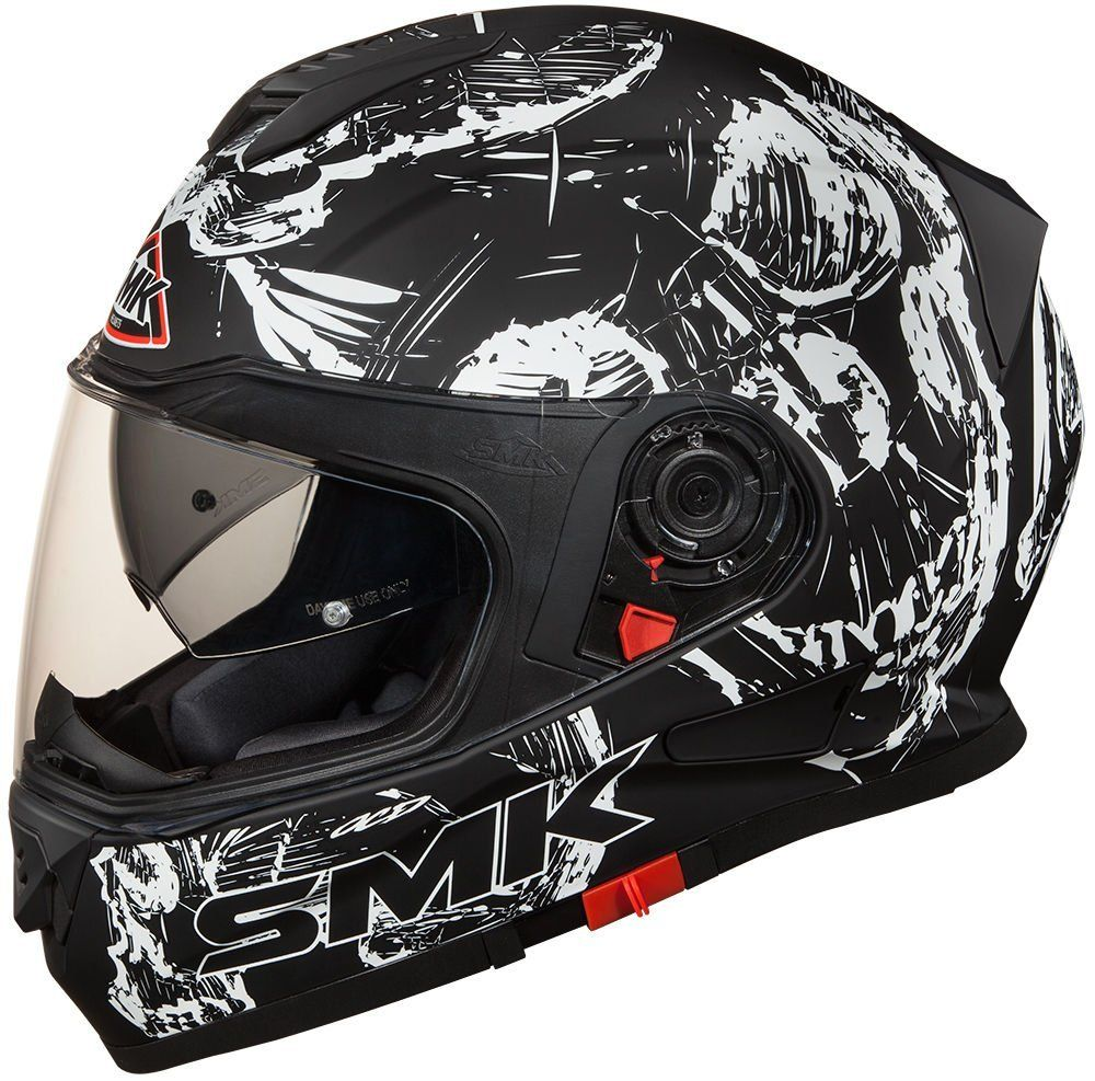 Smk Twister Designer Helmet With Skull Graphics With Images