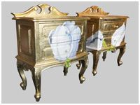 Hand Painted Sideboards and Chests, Antique Style Sideboards, Kensington, West London, UK