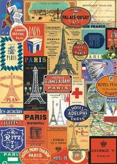Vintage Travel Wallpaper