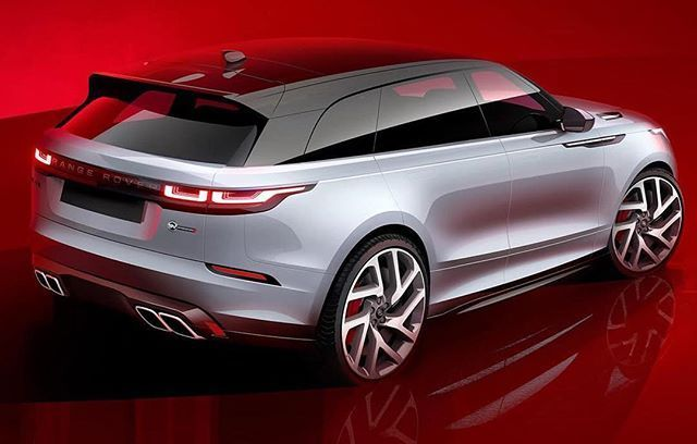 Form Trends Range Rover Car Design Sketch Car