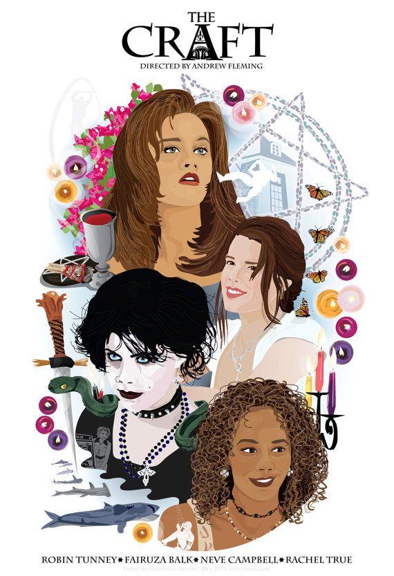 THE CRAFT (1996) Inspired Movie Art Print.