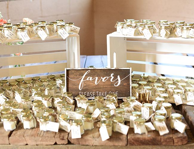4 Perfect Favors For A Spring Wedding Inspired By This Spring Wedding Favors Wedding Welcome Wedding Favors Fall