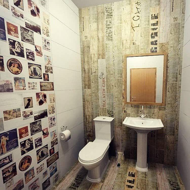 Обои для туалета в квартире фото: интерьер туалета, ремонт ...